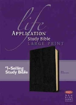 Life Application Study Bible: New King James Version, Black Bonded Leather (Paperback)