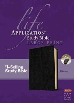 Life Application Study Bible: New King James Version, Black, Bonded Leather (Paperback)