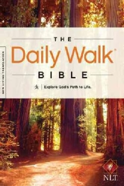 The Daily Walk Bible: New Living Translation, Explore God's Path to Life (Paperback)