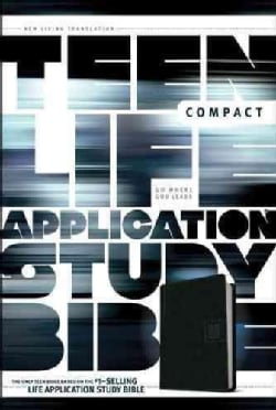 Teen Life Application Study Bible: New Living Translation, Black, LeatherLike, Go Edition (Paperback