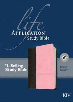Life Application Study Bible: King James Version, Dark Brown/Pink Leatherlike TuTone (Paperback)