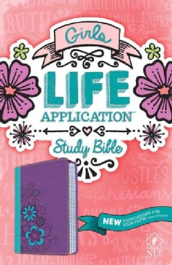 Holy Bible: New Living Translation, Tutone, Girls Life Application Study Bible (Paperback)