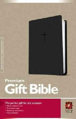 Holy Bible: New Living Translation, Black Leatherlike, Premium Gift Bible (Paperback)