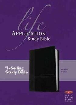 Life Application Study Bible: New King James Version, TuTone Black/Onyx, Leatherlike (Paperback)