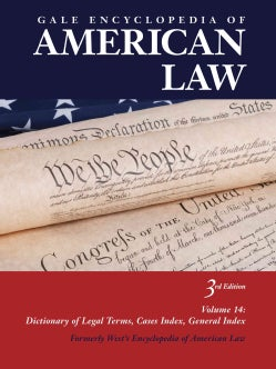 Gale Encyclopedia of American Law (Hardcover)