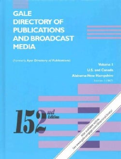 Gale Directory of Publications and Broadcast Media: An Annual Guide to Publlications and Broadcasting Stations In... (Hardcover)