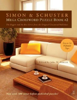 Simon & Schuster Mega Crossword Puzzle (Paperback)