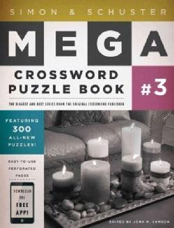 Simon & Schuster Mega Crossword Puzzle Book 3 (Paperback)