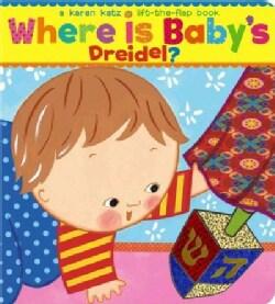 Where Is Baby's Dreidel? (Board book)