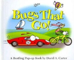 Bugs That Go!: A Bustling Pop-up Book (Hardcover)