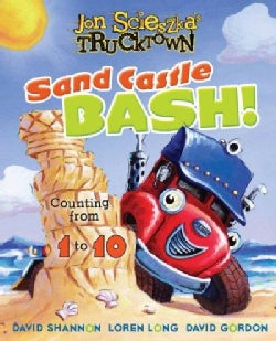 Sand Castle Bash!: Counting from 1 to 10 (Board book)