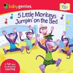 5 Little Monkeys Jumpin' on the Bed (Board book)