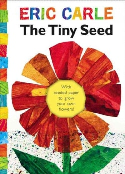 The Tiny Seed: With Seeded Paper to Grow Your Own Flowers (Hardcover)