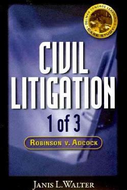 Robinson V. Adcock (CD-ROM)