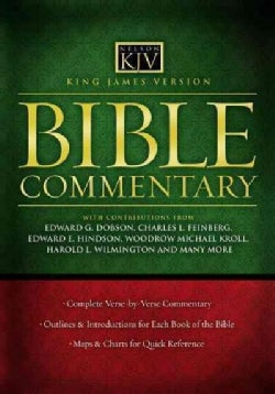 KJV Bible Commentary (Hardcover)