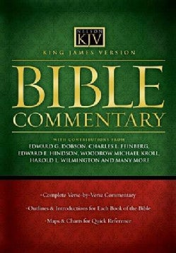 Bible Commentary: King James Version (Hardcover)