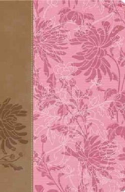 The Woman's Study Bible: New King James Version, Pink / Cafe Au Lait Fabric & Leathersoft (Paperback)