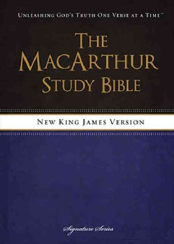 The MacArthur Study Bible: New King James Version (Hardcover)