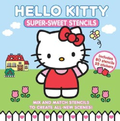 Hello Kitty Super-Sweet Stencils (Hardcover)