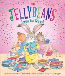 The Jellybeans Love to Read (Board book)