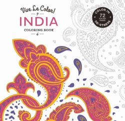India Adult Coloring Book (Paperback)