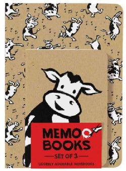 Holy Cow: Memo Books (Set of 3 Notebooks) (Notebook / blank book)