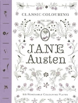 Classic Colouring: 55 Removable Colouring Plates (Paperback)