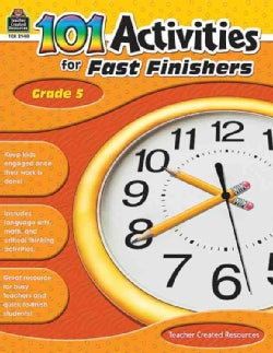 101 Activities for Fast Finishers (Paperback)