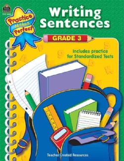Practice Makes Perfect Writing Sentences, Grade 3 (Paperback)