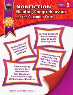 Nonfiction Reading Comprehension for the Common Core: Grade 5 (Paperback)