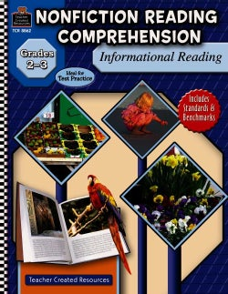 Nonfiction Reading Comprehension: Informational Reading, Grades 2-3 (Paperback)