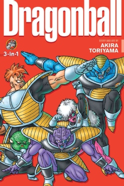 Dragon Ball 8: 3-in-1 Edition (Paperback)