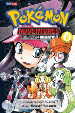 Pokemon Adventures Black & White 6 (Paperback)