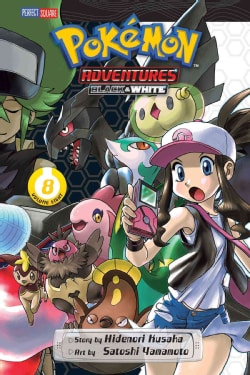 Pokemon Adventures Black and White 8 (Paperback)