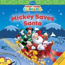 Mickey Saves Santa (Paperback)
