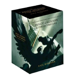 Percy Jackson Boxed Set: The Lightning Thief / The Sea of Monsters / The Titans Curse / The Battle of the Labyrin... (Paperback)