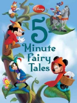 Disney 5-Minute Fairy Tales (Hardcover)