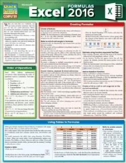 Excel 2016 Formulas (Cards)