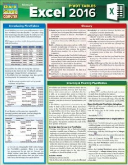 Excel 2016 Pivot Tables (Cards)