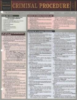 Criminal Procedure (Cards)