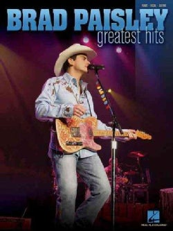Brad Paisley Greatest Hits: Piano-Vocal-Guitar (Paperback)