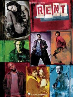 Rent: Movie Vocal Selections (Paperback)