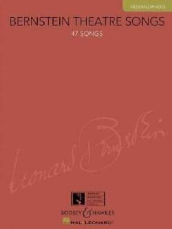 Bernstein Theatre Songs: Medium/ Low Voice (Paperback)