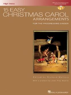 15 Easy Christmas Carol Arrangements: For the Progressing Singer