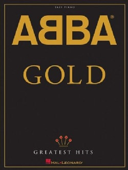 Abba: Gold; Greatest Hits: Easy Piano (Paperback)