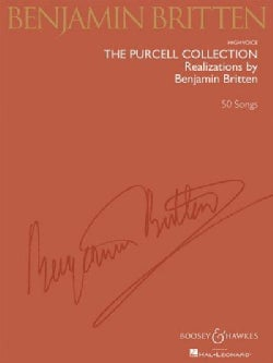 The Purcell Collection - Realizations by Benjamin Britten: High Voice (Paperback)