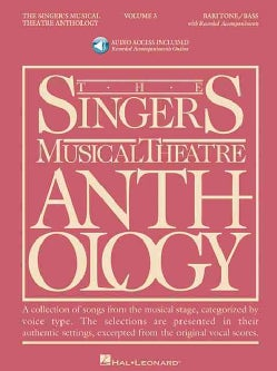 The Singer's Musical Theatre Anthology: Baritone/Bass Book
