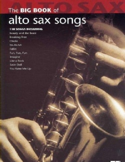 The Big Book of Alto Sax Songs (Paperback)