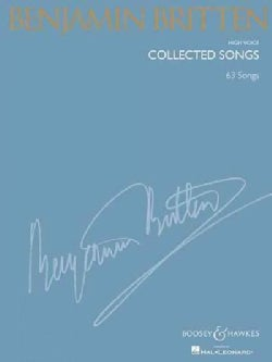 Collected Songs: High Voice: 63 Songs (Paperback)