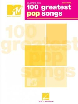 100 Greatest Pop Songs: Easy Piano (Paperback)